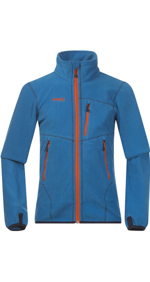 Bergans Runde Youth Jkt Light Sea Blue